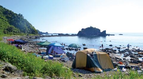 釜谷キャンプ場