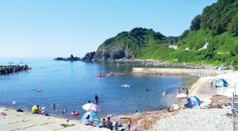 釜谷海水浴場