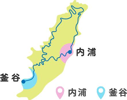 内浦 釜谷